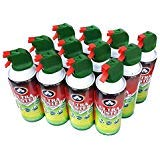 Case of 12, Ultra Duster - Multi-Purpose Canned Air Dusters 10 Oz.