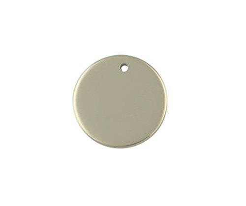 9ct or jaune Pendentif disque