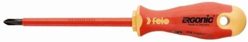 Felo 0715753153 PH1 VDE Series 400 Ergonic Phillips Insulated Screwdriver, 3-1/8 by Felo ()