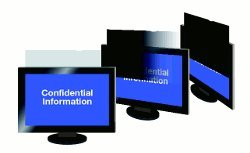 MagicScreen Blickschutzfilter 20,0 Zoll (50,8 cm) 408,5 x 306,5 mm für Monitore, Bildschirme, Laptops, Notebooks und PC mit Haltelaschen