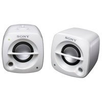 Sony SRSM50/WHI Compact, Stylish, Transportable Speaker (White)