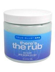 Bath & Body Works True Blue Spa There's the Rub Salt Glow Body Scrub 24 oz