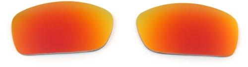 Ruby Iridium Lens (Oakley Fives 3.0 16-431 Iridium Rimless Sunglasses,Multi Frame/Ruby Lens,One)