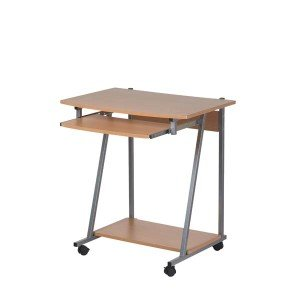office table with wheels. Perfect Wheels Wooden Computer Office Table Desk Workstation On Wheels With