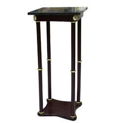 Gold Metal Plant Stand - 7