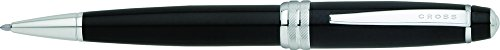Lacquer Finish Ballpoint Pen - Cross Bailey Black Lacquer Ballpoint Pen (AT0452-7)