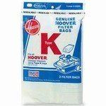 Hoover Type K Spirit Vacuum Cleaner Replacement Bags, Package of...