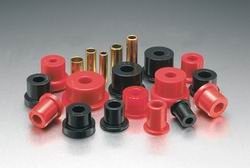 Energy Suspension 1986-1995 Suzuki Samurai Rear Leaf Spring Bushing Set for Aftermarket Shackles Red