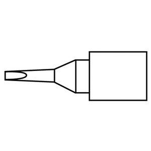 Micro Chisel Tip (Hakko Solder Tip, Chisel, 0.6 x 6mm, Micro, FM-2032)