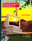 Getting Started with Microsoft Access 7.0 for Windows 95