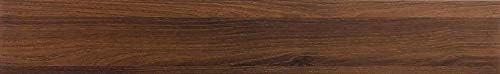 【Dream Sticker】【耐水 貼るだけ 接着剤付き】フロアタイル 木目調 置くだけ 接着剤不要 フローリングタイル 22枚セット/約2畳 MAF-05 ダークウッド