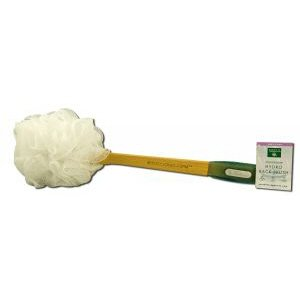 Earth Therapeutics Hydro Back Brush White - 1 (Hydro Back Brush)