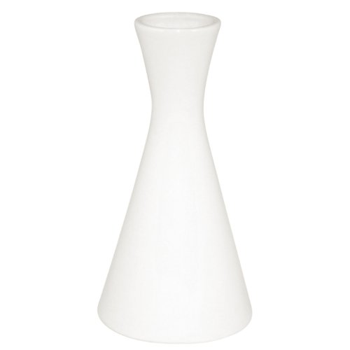 Olympia Whiteware Bud Vase 5 1/2''(h). Pack quantity: 6