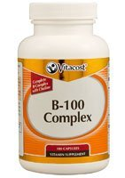 Vitacost B-100 Complex -- 100 Capsules by Vitacost Brand