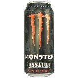 red monster energy drink case - 3