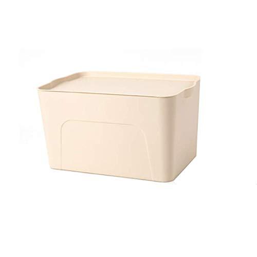 RUOAP Caja De Almacenaje, Caja De Almacenaje del Guardarropa, Almacenaje Y Caja De Almacenaje, Ropa Plástica Grande, Libro,...
