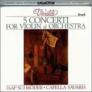 Vivaldi: 5 Concerti for Violin and Orchestra