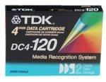 TDK 4mm Data Storage Cartidge 120 Minute