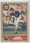 1987 Topps Traded Baseball (Greg Maddux (Baseball Card) 1987 Topps Traded #70T)
