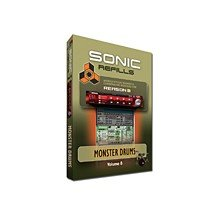 Sonic ReFill Vol. 08: Monster Drums (Reason Refills)
