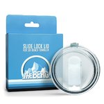 Slide Lock Lid for Yeti Rambler Tumbler 30 Ounce - Also Fits The Berg - RTIC & SIC Cups & Most Other Models In 30 OZ Sizes