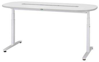 ナーシングテーブル(天板電動昇降式) NT-102S(1800X900) ((24-6600-01)【サカセ化学工業】[1台単位] B07BD2QCZH