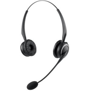 GN Netcom A/S Gn Jabra Gn9125 Duo Flex Wireless Headset - Wireless Connectivity - Stereo - Over-the-head, Over-th (Duo Stereo Headset)