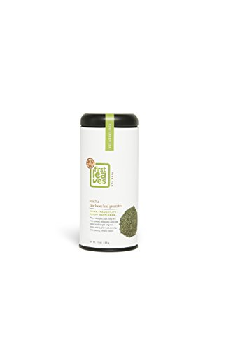 First Leaves Sencha Loose Leaf Green Tea by Premium Japanese Gourmet Green Tea - First Flush Harvest - Comes in Ready to Gift Canister - Powerful Antioxidants and Natural Detox