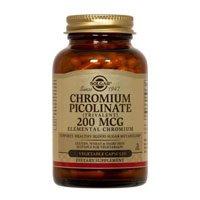 Chromium Picolinate 200mcg 180 Caps 3-Pack