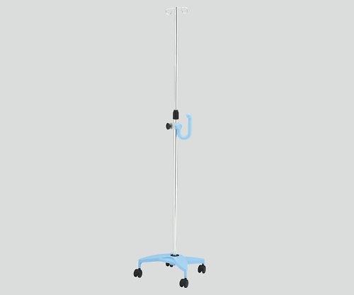 ナビス(アズワン)8-8289-02イルリガードルスタンド(ネスティングタイプ)2本架ブルー B07BD2J4KG