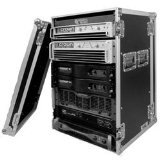 Road Ready RR18UAD 18U Amplifier Deluxe Case with18-Inch Body Depth from Road Ready