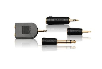 RadioShack Gold Series 4-Piece Headphone Adapter Set