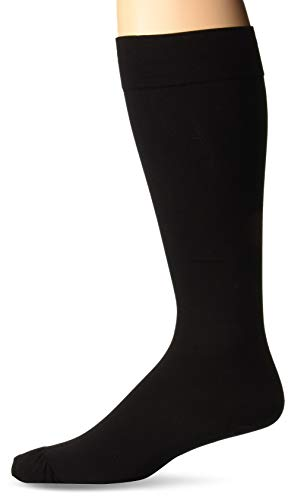 Truform Compression 20-30 mmHg Knee High Stockings Black, X-Large, 2 Count