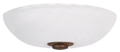 (Emerson Ceiling Fans LK150OMLEDGBZ Harlow Opal Matte LED Low Profile Ceiling Fan Light Fixture)