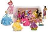 Disney Princess Mini-Figure Play Set #2 Holiday Figure Set