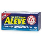 Aleve Arthritis Caplets, 220mg Caplets 100-count.