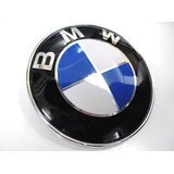 Roundel Emblems Rear - BMW e31 e53 e65 e66 rear Hatch/ Trunk Emblem KIT +clips OEM