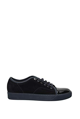 Uomo Camoscio fmskdbb1vbal Eu Sneakers Blu Lanvin 7WTHOfc