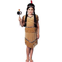 Lil' Pow Wow Indian Costume - Child Size Large 12-14