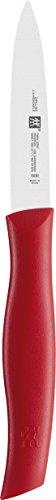 트윈 spick 트윈 그립 및 90 m m 칼 (FRIODUR 블레이드, 처리: 플라스틱) 레드