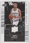 - Tony Parker (Basketball Card) 2008-09 Upper Deck - UD Game Jersey #GA-PA