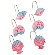 Superieur Little Mermaid Shower Curtain Hooks 12 Pc