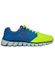 Schuh Keira Legea (blau/gelb fluo/pink, 41)