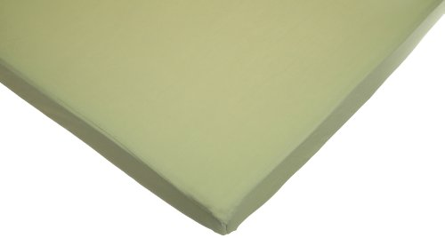 American Baby Company 100% Cotton Value Jersey Knit Fitted Portable/Mini Sheet, Celery