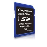Pioneer CNSD-OMM013 2009 Mexico Map microSD Card
