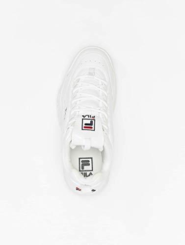 Low Weiß Disruptor Damen Fila Schuhe M Wmn w6Tqn4axU