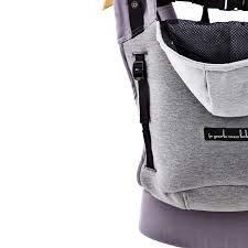 feb94891b4bd ... porte mon bebe - hoodiecarrier coton - gris flanelle Hc43 Agrandir  l image