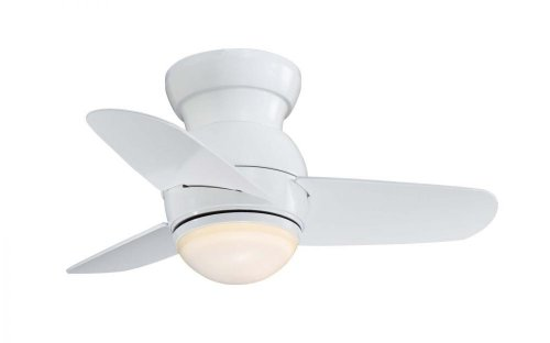 Minka-Aire F510-WH, Spacesaver, 26' Ceiling Fan, White