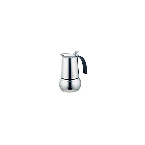 Bialetti Kitty Stainless Steel 10 Cup Espresso Maker