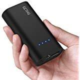 GETIHU Power Bank - Cargador portátil de 5200 mAh, 2,4 A, con Bolsillo de Carga de Alta Velocidad, para iPhone X 8 7 6S 6...